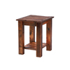 Fireside Lodge Furniture Barnwood Oak Rectangular End Table