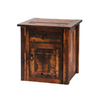 Fireside Lodge Furniture Barnwood  Hickory Rectangular End Table