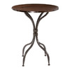 Stone County Ironworks Forest Hill Natural Black Round Dining Table