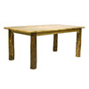 Montana Woodworks Glacier Country Stained and Lacquered Rectangular Dining Table