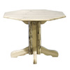 Montana Woodworks Montana Clear Lacquer Octagon Dining Table