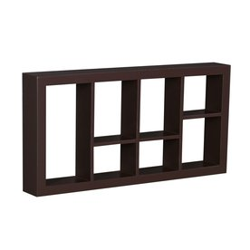 Shop Boston Loft Furnishings 24-in Wood Wall Mounted Shelving at ...