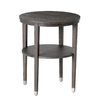 Arteriors Home Gray Oak Round End Table