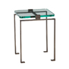 Arteriors Home Natural Iron Metal Square End Table