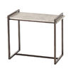 Arteriors Home Dark Natural Iron Metal Rectangular End Table