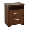 Prepac Furniture Coal Harbor Espresso Nightstand