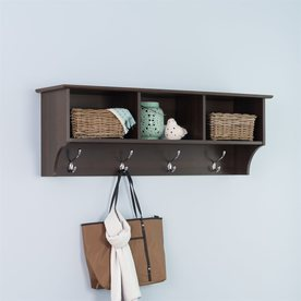 Shop Prepac Furniture 48-in Wood Wall Mounted Shelving at Lowes.