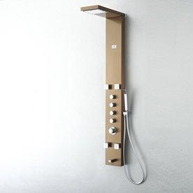 Fresca Verona Brushed Bronze Shower Panel System