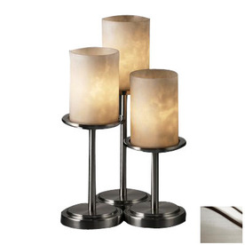 shop cascadia lighting 3 way brushed nickel touch table lamp with. Black Bedroom Furniture Sets. Home Design Ideas