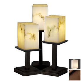 shop cascadia lighting 3 way dark bronze touch table lamp with shade. Black Bedroom Furniture Sets. Home Design Ideas