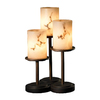 Cascadia Lighting 3-Way Dark Bronze Table Lamp with Shade