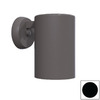 Remcraft Lighting 5-3/4-in W 1-Light Black Arm Wall Sconce