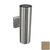 Remcraft Lighting 4-5/8-in W 1-Light Satin Aluminum Arm Wall Sconce