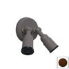 Remcraft Lighting 2-Light Rust Arm Wall Sconce
