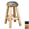 Viking Industries Log Honey 30-in Pub Bar Stool