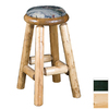 Viking Industries Log Clear 24-in Counter Pub Bar Stool