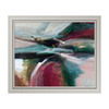 Amanti Art 28.6-in W x 23.6-in H Abstract Framed Wall Art
