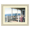 Amanti Art 39.63-in W x 31.38-in H Architecture and Seascape Framed Wall Art