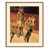 Amanti Art 31.04-in W x 37.04-in H Animals Framed Wall Art