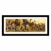 Amanti Art 42.62-in W x 18.62-in H Animals Framed Wall Art