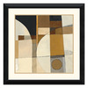 Amanti Art 33.5-in W x 33.5-in H Abstract Framed Wall Art