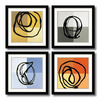 Amanti Art 27.62-in W x 27.62-in H Abstract Framed Wall Art