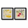 Amanti Art 23.62-in W x 23.62-in H Floral and Still Life Framed Wall Art