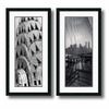 Amanti Art 17.5-in W x 34-in H Architecture Framed Wall Art