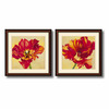 Amanti Art 27.02-in W x 27.02-in H Floral and Still Life Framed Wall Art