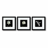 Amanti Art 11.04-in W x 11.04-in H Floral and Still Life Framed Wall Art