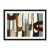 Amanti Art 42.19-in W x 30.19-in H Abstract Framed Wall Art