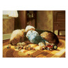 Art 4 Kids 26-in W x 20-in H Animals Framed Wall Art