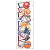 Art 4 Kids 14-in W x 36-in H Sports and Recreation Framed Wall Art