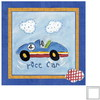 Art 4 Kids 12-in W x 12-in H Automotive Framed Wall Art