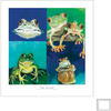Art 4 Kids 24-in W x 25-in H Animals Framed Wall Art