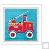 Art 4 Kids 13-in W x 13-in H Automotive Framed Wall Art