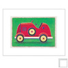 Art 4 Kids 15-in W x 12-in H Automotive Framed Wall Art