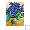 Art 4 Kids 24-in W x 33-in H Floral and Still Life Framed Wall Art