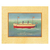 Art 4 Kids 20-in W x 16-in H Nautical Framed Wall Art