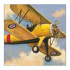 Art 4 Kids 19-in W x 19-in H Airplanes Framed Wall Art