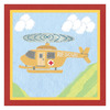Art 4 Kids 10-in W x 10-in H Airplanes Canvas Wall Art