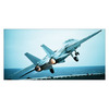 Art 4 Kids 34-in W x 16-in H Airplanes Canvas Wall Art