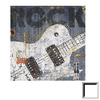 Art 4 Kids 14-in W x 14-in H Music Framed Wall Art