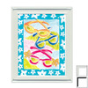 Art 4 Kids 13-in W x 16-in H Novelty Nautical Framed Wall Art