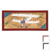 Art 4 Kids 22-in W x 10-in H Airplanes Framed Wall Art