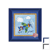 Art 4 Kids 16-in W x 16-in H Airplanes Framed Wall Art