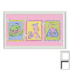 Art 4 Kids 34-in W x 21-in H Novelty Framed Wall Art