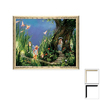 Art 4 Kids 30-in W x 24-in H Portrait Framed Wall Art