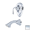 Estate by Pioneer Industries Calla Polished Chrome 1-Handle Adjustable Wall Mount Tub Faucet