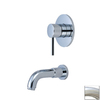 Estate by Pioneer Industries Motegi Brushed Nickel 1-Handle Adjustable Wall Mount Tub Faucet
